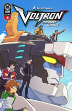 Image: Voltron: Legendary Defender Vol. 2 #4 (incentive cover) (10-copy) - Lion Forge