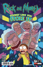 Image: Rick & Morty: Pocket Like You Stole It #5 (2-cover set) - Oni Press Inc.