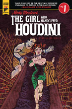 Image: Minky Woodcock: The Girl Who Handcuffed Houdini #1 (cover C - Von Buhler) - Titan - Hard Case Crime