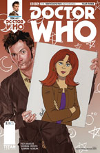 Image: Doctor Who: The 10th Doctor - Year Three #11 (cover A - Myers & Smith) - Titan Comics