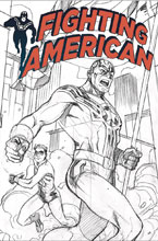 Image: Fighting American #0 (variant cover  - Titan Comics