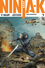 Image: Ninja-K #1 (cover C incentive - Interlock Rocafort) (20-copy) - Valiant Entertainment LLC