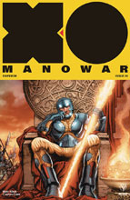 Image: X-O Manowar #9 (2017) (cover C incentive - Interlock Ryp) (20-copy) - Valiant Entertainment LLC