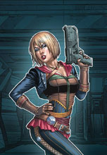 Image: Black Sable #5 (cover C - Santacruz) - Zenescope Entertainment Inc