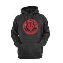 Image: Buckaroo Banzai Hoodie: Institute [Black]  (L) - Kasual Friday LLC
