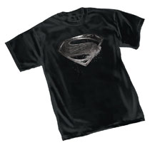 Image: Justice League T-Shirt: Superman Symbol  (XL) - Graphitti Designs