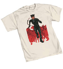 Image: Catwoman T-Shirt: Chase  (XL) - Graphitti Designs