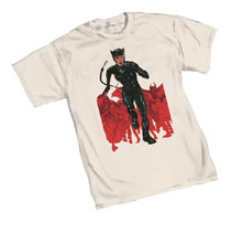 Image: Catwoman T-Shirt: Chase  (XXL) - Graphitti Designs