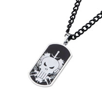 Image: Marvel Punisher Dogtags: Skull  - Sales One LLC