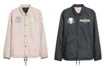 Image: Predator Coach Jacket: Reversible Glow-in-the-Dark [Black]  (XL) - The Forecast Agency