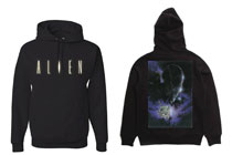 Image: Alien: Front and Back [Black]  (XL) - The Forecast Agency
