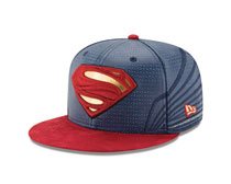 Image: Justice League 5950 Fitted Cap: Superman  (7 5/8) - New Era Cap Co