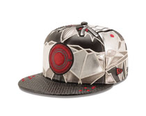 Image: Justice League 5950 Fitted Cap: Cyborg  (7 3/8) - New Era Cap Co