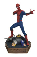 Image: Marvel Premier Collection Statue: Spider-Man Homecoming  - Diamond Select Toys LLC