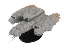 Image: Alien / Predator Figure Ship #1 (USCSS Nostromo) - Eaglemoss Publications Ltd