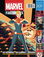 Image: Marvel Fact Files #201 (Capt. Marvel cover) - Eaglemoss Publications Ltd