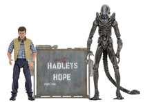 Image: Aliens Deluxe Action Figure 2-Pack: Hadley's Hope  - Neca