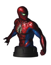 Image: Marvel Mini-Bust: Spider-Man Mark IV  - Gentle Giant Studios