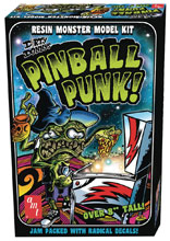 Image: Dirty Donny Pinball Punk Resin Monster Model Kit  - Amt