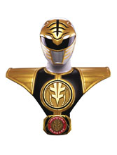 Image: Mighty Morphin Power Rangers Bust: White Ranger  (1/1-scale) - Pop Culture Shock Collectibles