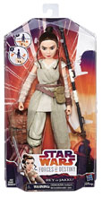 Image: Star Wars: Forces of Destiny - Rey Adventures Figure Case  - Hasbro Toy Group