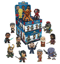Image: Mystery Minis Thor Ragnarok 12-Piece Blind Mystery Box Display  - Funko