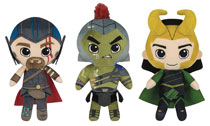 Image: Funko Plush Thor Ragnarok 6-Piece Plush Display  - Funko
