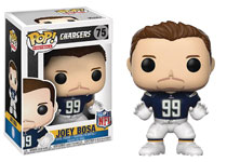 Image: Pop! NFL Vinyl Figure: Joey Bosa Chargers  (Home) - Funko