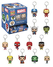 Image: Pocket Pop! Marvel Figure Keychain 24-Piece Blind Mystery Box Display  - Funko