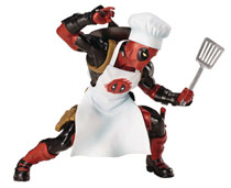 Image: Marvel Universe Artfx+ Statue: Cooking Deadpool  - Koto Inc.