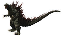 Image: Gigantic Series Godzilla Figure: Godzilla Yuji Sakai  (1999) - X Plus Usa Inc