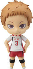 Image: Haikyuu Nendoroid Figure: Morisuke Yaku  - Orange Rouge