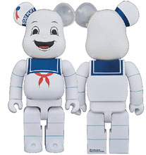 Image: Ghostbusters Bearbrick: Stay Puft  (400) - Medicom Toy Corporation