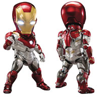 Image: Spider-Man Homecoming Action Figure: EAA-052 Iron Man Mark 47  - Beast Kingdom Co., Ltd