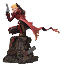 Image: Trigun Polystone Figure: Badlands Rumble - Vash  (Holdup version) (1/6-scale) - Argo-Shsa/Fullcook