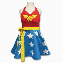 Image: DC Heroes Character Apron: Wonder Woman  - Icup Inc