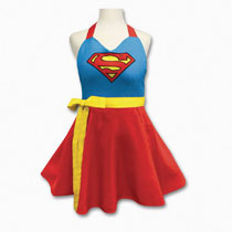 Image: DC Heroes Character Apron: Supergirl  - Icup Inc