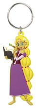Image: Tangled Soft Touch PVC Keyring: Rapunzel  - Monogram Products