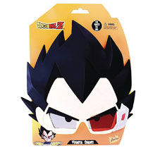 Image: Dragonball Z Sunstaches Sunglasses: Vegeta  - H2W