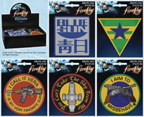Image: Firefly Iron on Patch 30-Piece Assortment  - Ata Boy