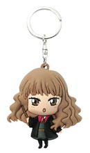 Image: Harry Potter Soft Touch PVC Figural Keyring: Hermione Kawaii  - Monogram Products