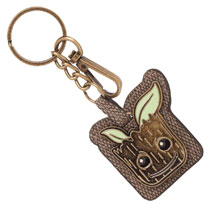 Image: Guardians of the Galaxy 2 Keychain: Groot Pu  - Bioworld Merchandising