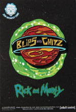 Image: Rick and Morty Lapel Pin: Blips and Chitz  - Zen Monkey Studios LLC