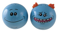 Image: Rick and Morty Salt and Pepper Shakers: Mr. Meeseeks  - Surreal Entertainment