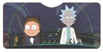 Image: Rick and Morty Car Shade: Driving Ship  - Surreal Entertainment