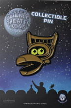Image: Mystery Science Theater 3000 Lapel Pin: Crow  - Zen Monkey Studios LLC