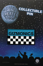 Image: MST3K Lapel Pin: Gizmonics Badge  - Zen Monkey Studios LLC