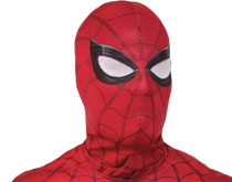 Image: Spider-Man Homecoming Adult Fabric Cowl Mask  - Rubies Costumes Company Inc