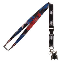 Image: Spider-Man Homecoming Lanyard  (w/Keychain) - Bioworld Merchandising
