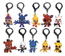 Image: Five Nights at Freddy's Figure Hangers 24-Piece Blind Mystery Box Display Series 1  - Ucc Distributing